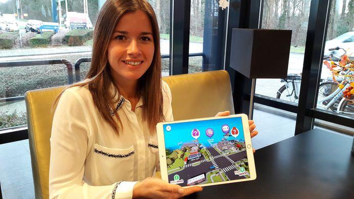 Jente Krijnen, projectleider bij tanteLouise, onder meer voor de ontwikkeling van de ouderenmishandelinggame