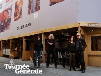"""Tournée Générale Café De Libertad pakt uit met 'overdekt stellingenterras': """"Van de nood een deugd gemaakt"""""""