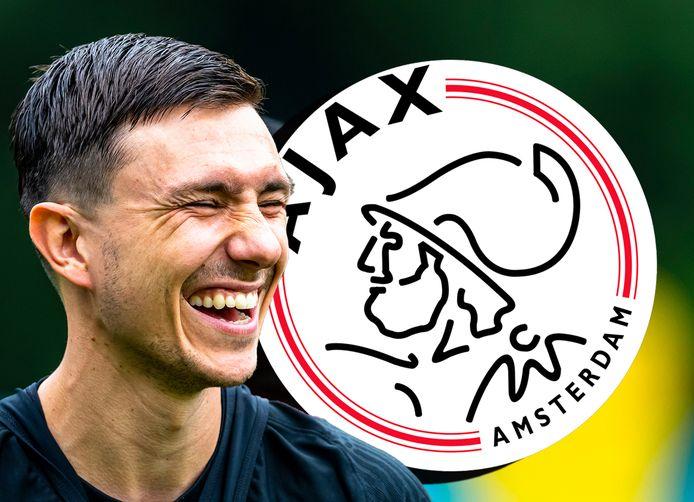 Steven Berghuis verruilt Feyenoord naar Ajax.