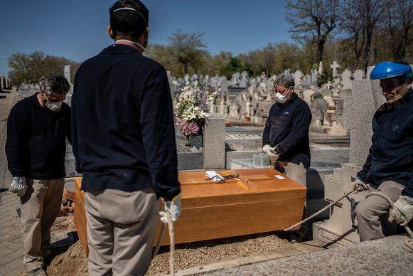 Anderen worden op het kerkhof begraven.