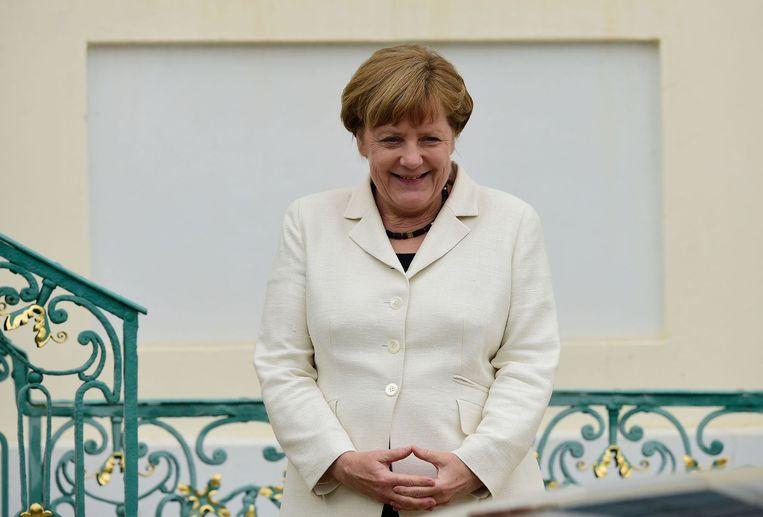 Angela Merkel Beeld anp