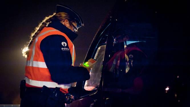 Vijf chauffeurs kijken te diep in het glas: bestuurder die meerdere overtredingen beging moet boete van 1.280 euro betalen