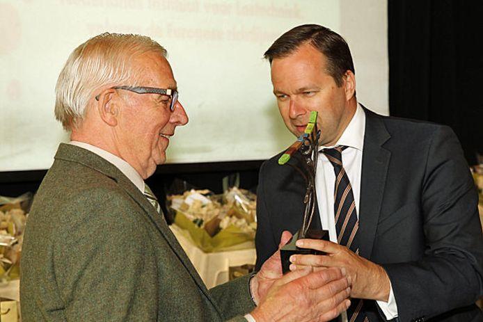 in 2015 ontving Herman de Lucas Onderwijsprijs voor zijn halve eeuw inzet voor het techniekonderwijs