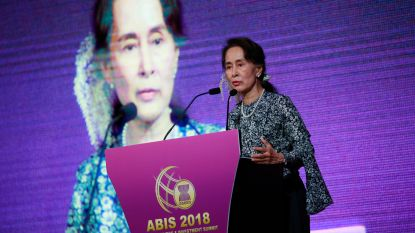 """Amnesty International trekt hoogste eretitel van Aung San Suu Kyi in: """"Schaamteloos verraad aan de waarden waarvoor ze eens stond"""""""
