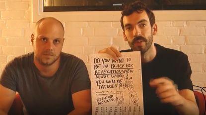 Je kan figureren in de nieuwe clip van Black Box Revelation, maar je moet er wel een tattoo bijnemen
