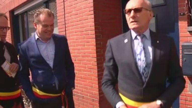 Dirk De Vis (rechts) is tevreden met de rechtzetting.