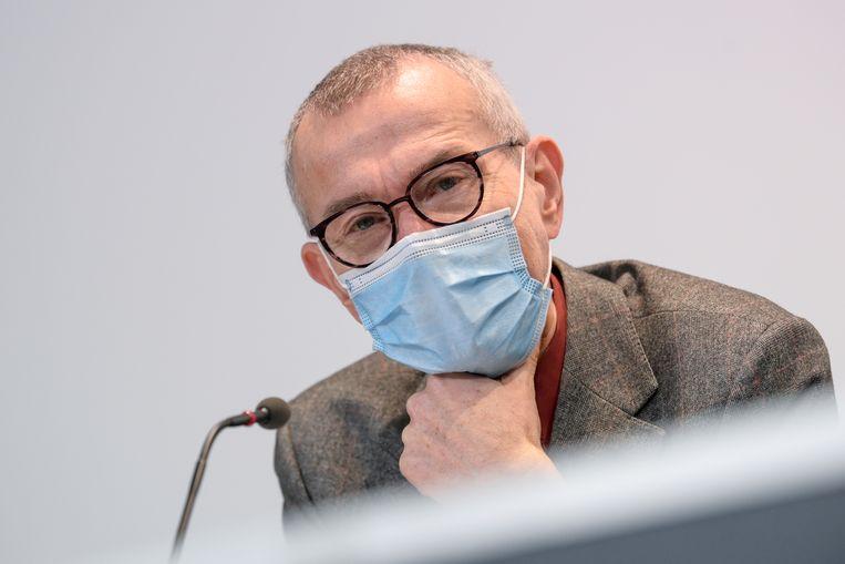 Coronavirus demorgen Frank Vandenbroucke Beeld BELGA