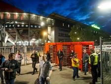 Chaos op perron dreigt na afloop bekerduel Twente-Ajax