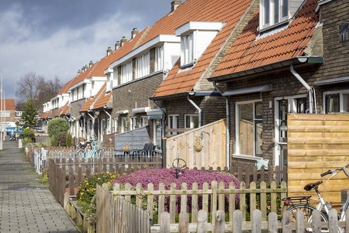 Elzenstraat, Nieuwstraatkwartier in Almelo.