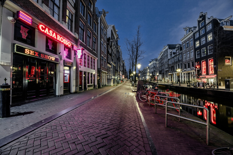 Amsterdam is stil.