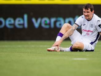 Anderlecht ondanks twee omstreden penalty's niet verder dan gelijkspel tegen STVV, paars-wit baalt om gelijkmaker in toegevoegde tijd
