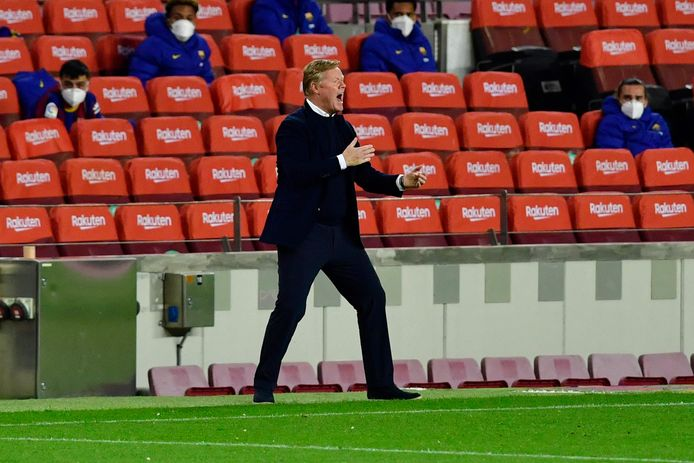 Voor Barcelona-coach Ronald Koeman staat komend weekend de belangrijke clash met Real Madrid op het programma.