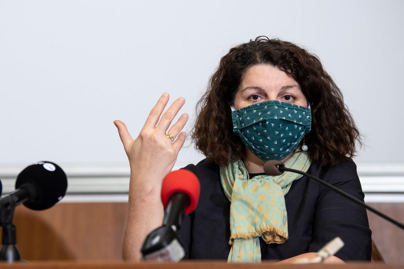 Marie-Hélène Ska, secrétaire générale de la FGTB.