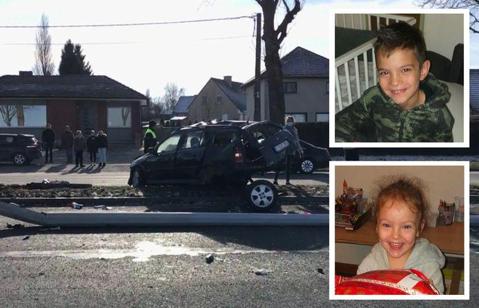 Louhan en Leyla lieten het leven bij het zware ongeval in Moeskroen.