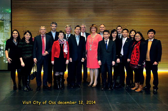 Een Vietnamese delegatie was vandaag in Oss.