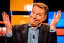 Presentator Albert Verlinde tijdens de allerlaatste keer als presentator van RTL Boulevard.