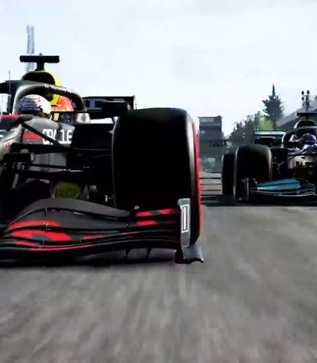 Nederlandse Jarno Opmeer na eerste raceweek aan kop in F1 Esports Series 2021