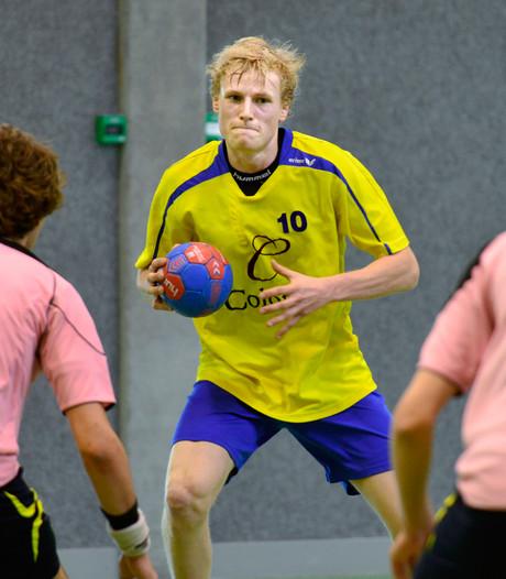 Handballers Hastu verspelen voorsprong na rode kaart