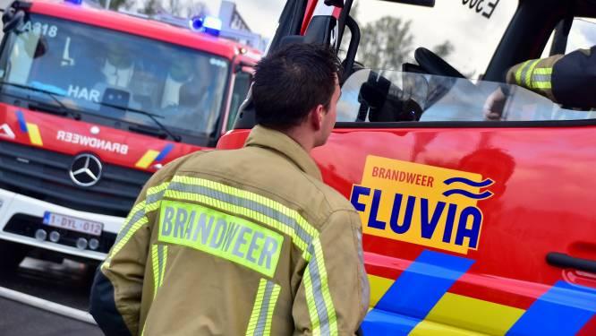 Nachtelijk vuurtjestook komt wel heel erg ongelegen voor brandweer