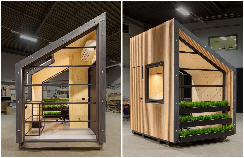 Het ontwerp My Home Office van Cosmas Bronsgeest.