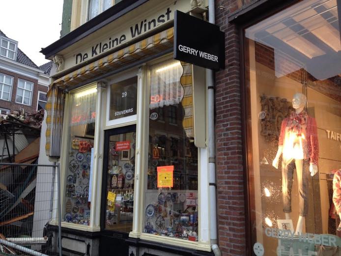 Het pand van de Kleine Winst aan de Markt in Den Bosch