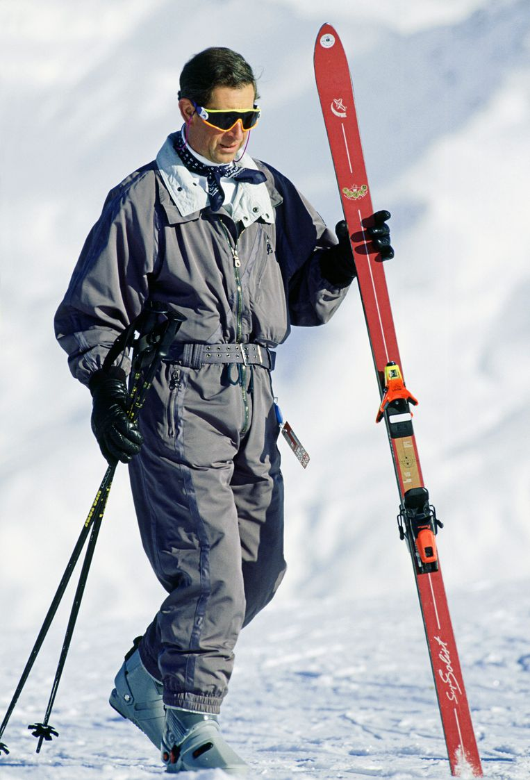 Skiën in Klosters, Zwitserland, 1994.  Beeld Tim Graham Photo Library via Get