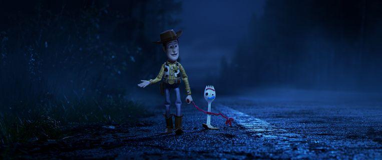Woody en Forky. Beeld RV
