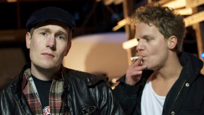 Joshua Boon (L) en Remy Britsemmer werkten jarenlang aan een album. © Margot James