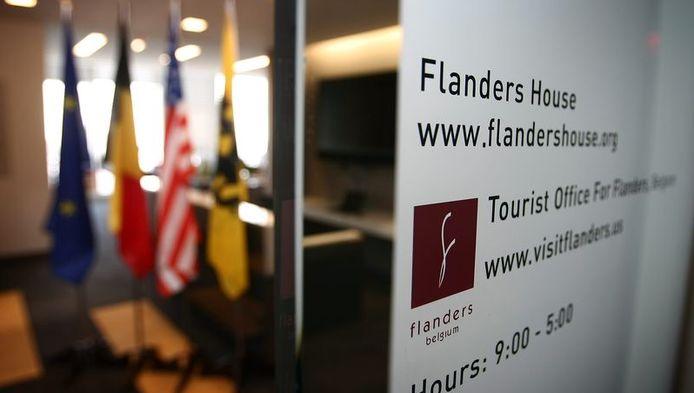 Het 'Flanders House' in New York kwam deze week in opspraak.