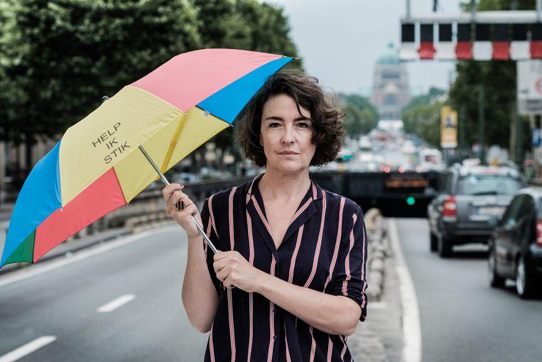 Nadia Verbeeck: 'Onze verontwaardiging is puur.' Beeld Bob Van Mol