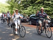 Massaal op de fiets voor de Route 55-tochten