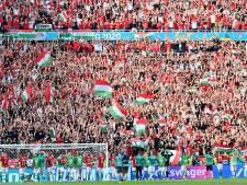 """Des stades hongrois aux couleurs nationales en réponse au """"Rainbow-gate"""""""