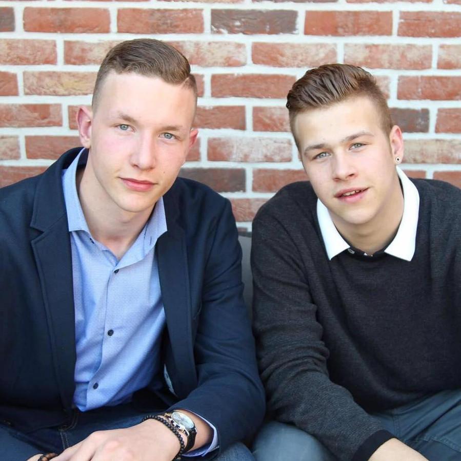 De twee broers Jens en Jonathan Wouters.
