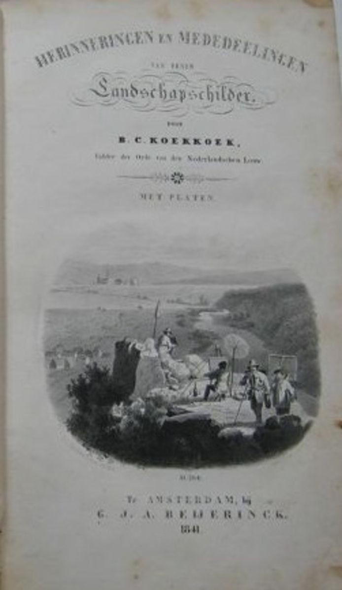 Titelblad B.C. Koekkoek