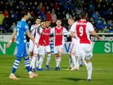Aangeslagen Ajax wint dan toch met ruime cijfers van PEC