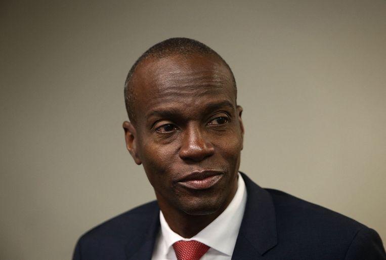 De Haïtiaanse president Jovenel Moïse. Beeld AFP