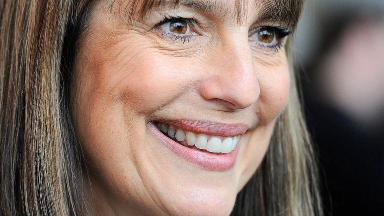 Easyjet-ceo Carolyn McCall: 'De relatie met Schiphol is enorm verbeterd.' Beeld ANP