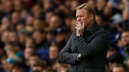 Everton zet Ronald Koeman aan de deur