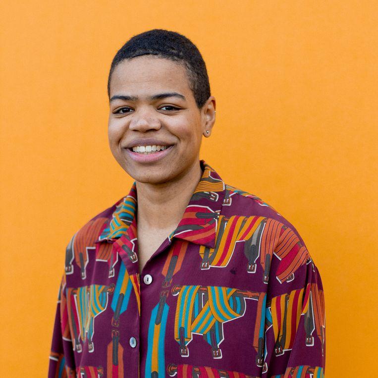 Ama Boahene: 'Er is maar één echte oplossing voor de studieachterstanden, concentratieproblemen en eenzaamheid van jongeren: fysiek onderwijs.' Beeld Ines Vansteenkiste-Muylle