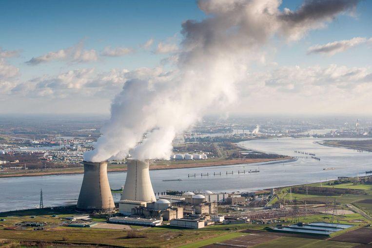 De kernreactoren van Doel, vlak bij Antwerpen. Beeld anp