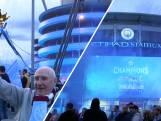 Fans vieren feest na kampioenschap Manchester City