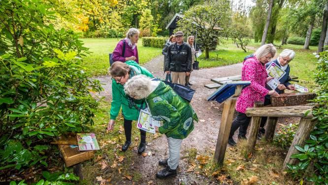 Arboretum mikt met speurtocht op jonge bezoekers: Alsof je je neus in een pot pindakaas steekt