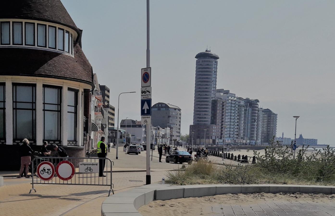 De boulevards in Vlissingen gaat de laatste weken zaterdagmiddag dicht voor gemotoriseerd verkeer.