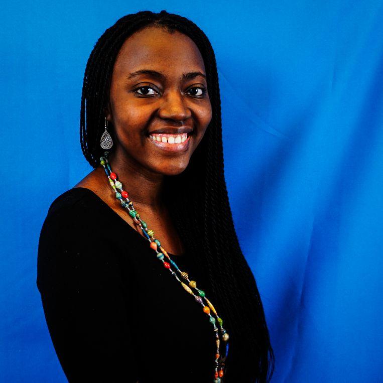 Sabrine Ingabire. Beeld Vlaamse Jeugdraad