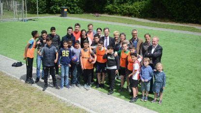 Speelterrein Hoogland feestelijk geopend