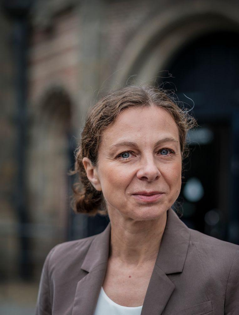 Dorota Mokrosinska: 'Het is een interessante vraag tot op welke hoogte we geheimhouding willen uitbannen.' Beeld Patrick Post