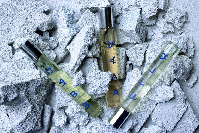 GLYPHS – The Alphabetic Perfume Collection flesjes _ (c) Autobahn Beeld Autobahn