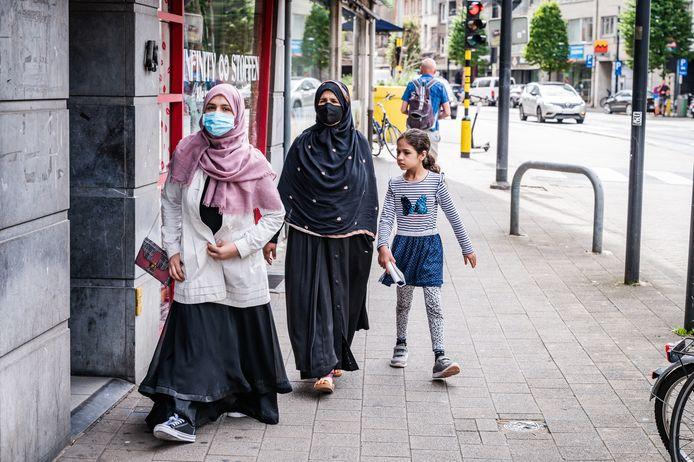 Vrouwen in Borgerhout.