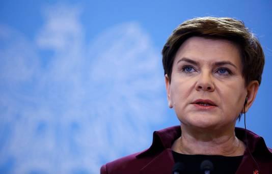 Premier Beata Szydlo
