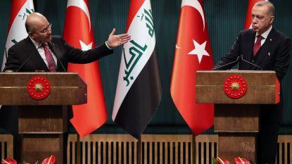 Turkije en Irak willen meer samenwerken in strijd tegen terreur